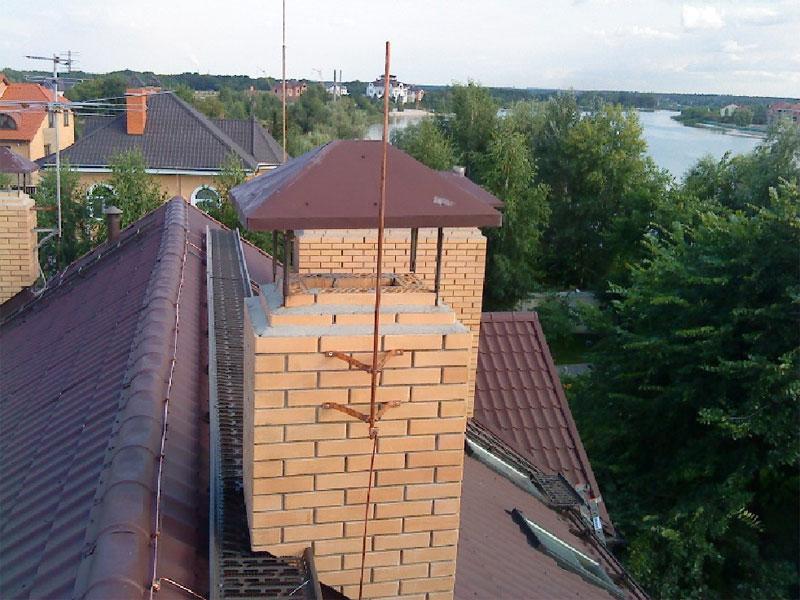 Молниезащита на даче