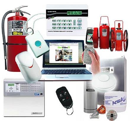Монтаж системы охранно пожарной сигнализации в коттеджах, фото