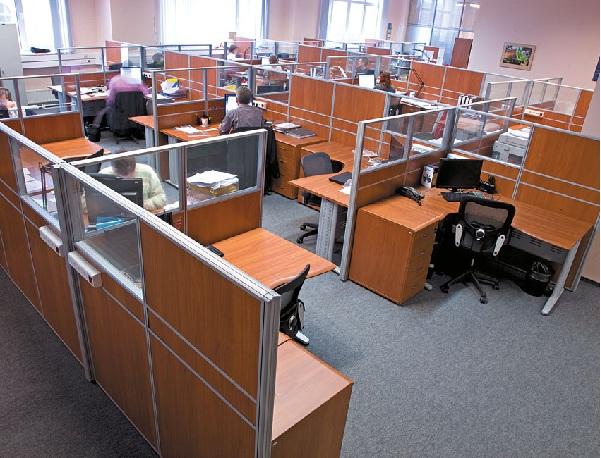 Розетки в офисе